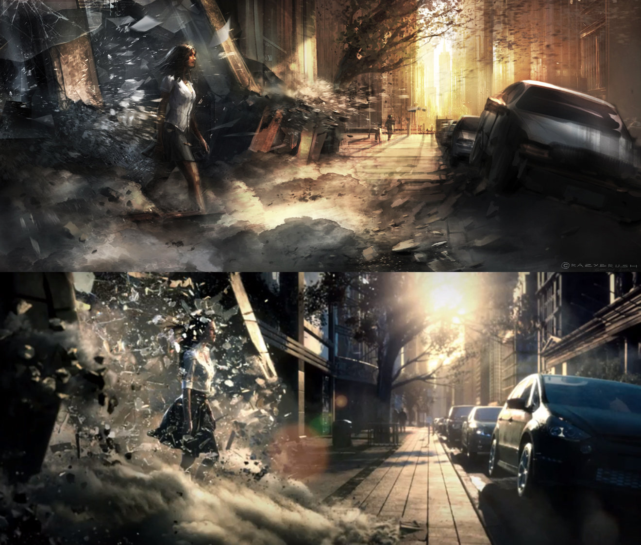 Sony commercial comparison