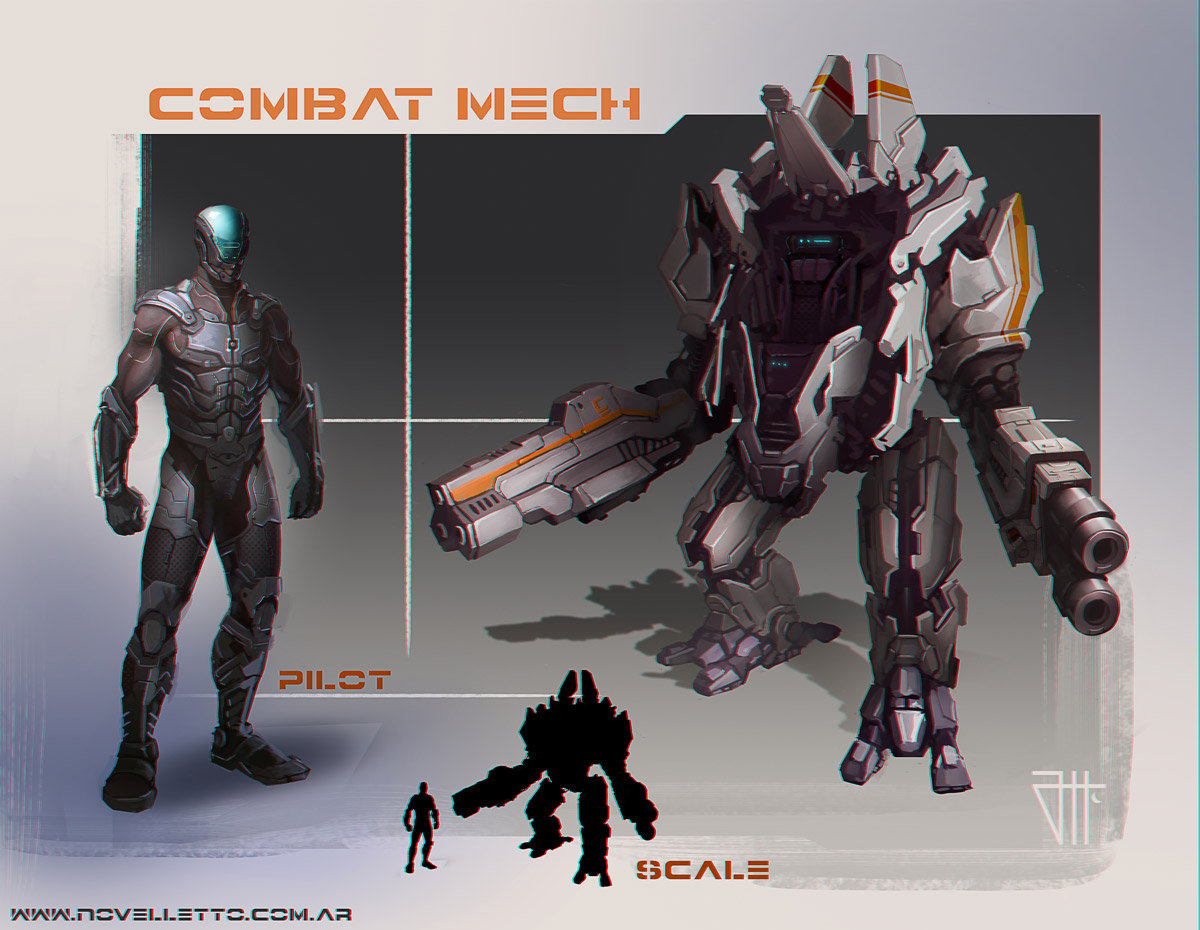 Mech and his pilot