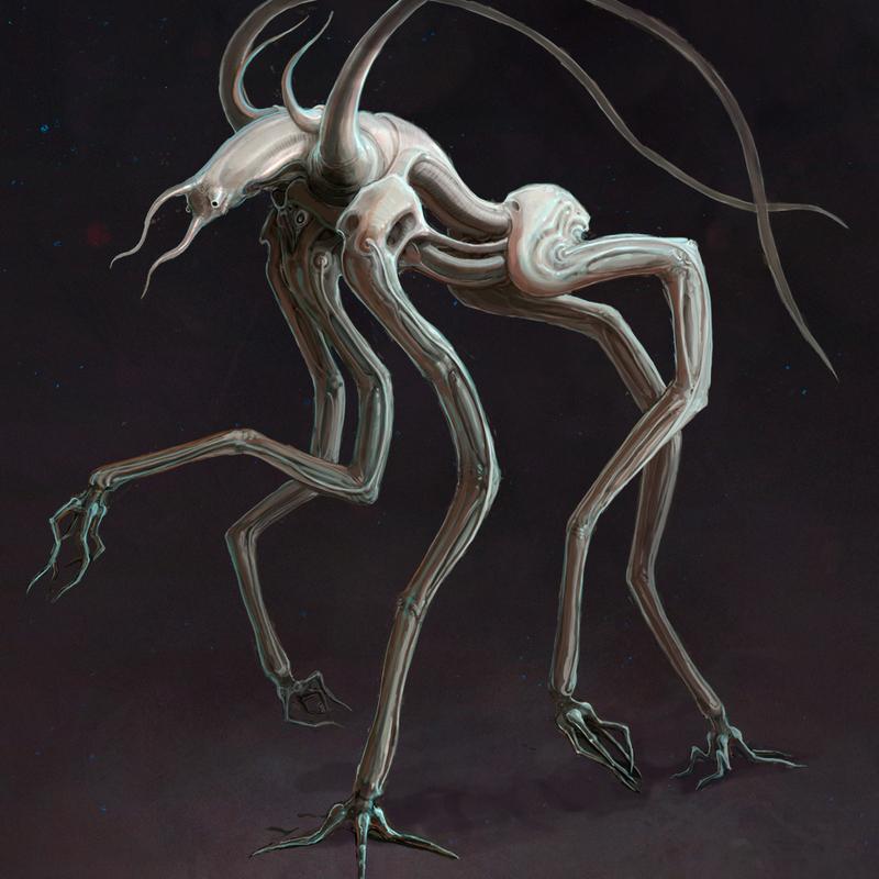 Primum Mobile | Creature Concept : Cherub