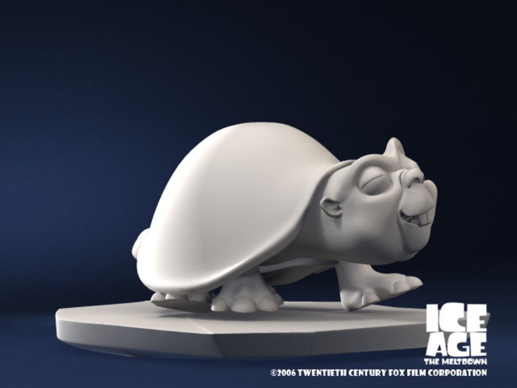 Ice Age The Meltdown (Glyptodon)