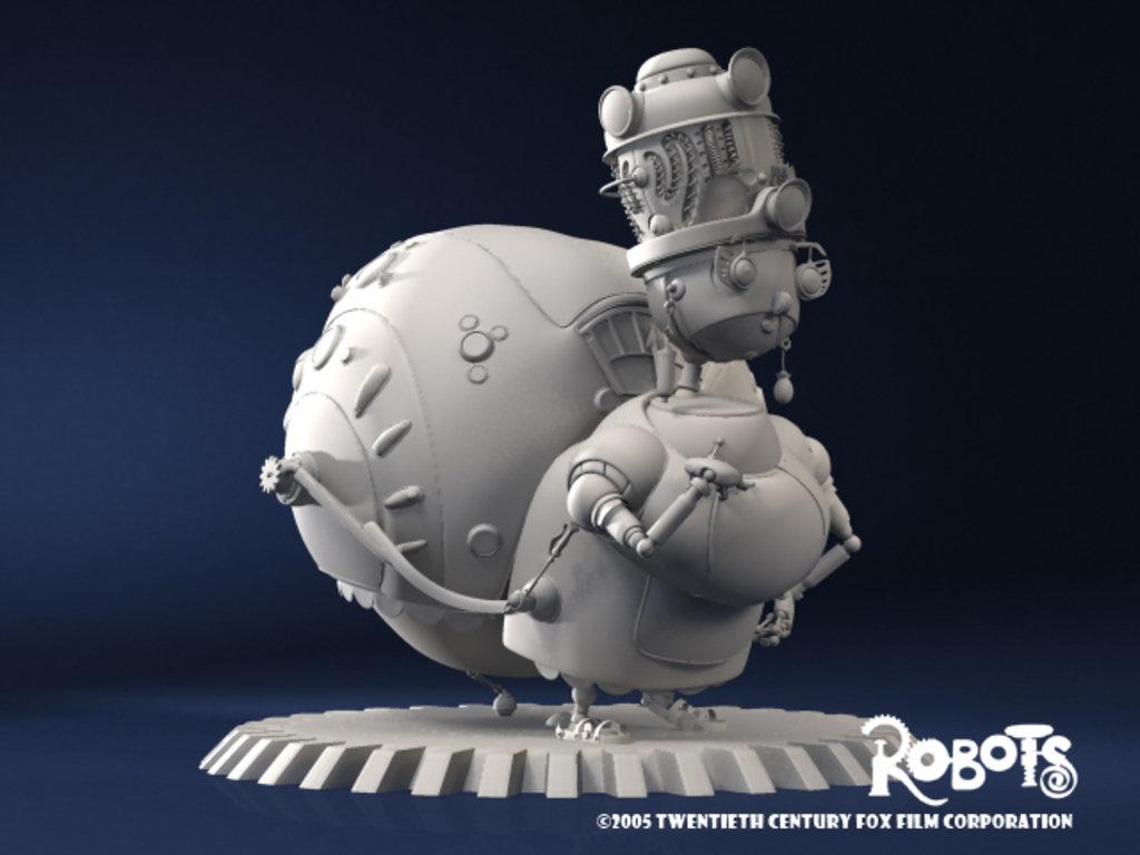 Robots: Aunt Fanny