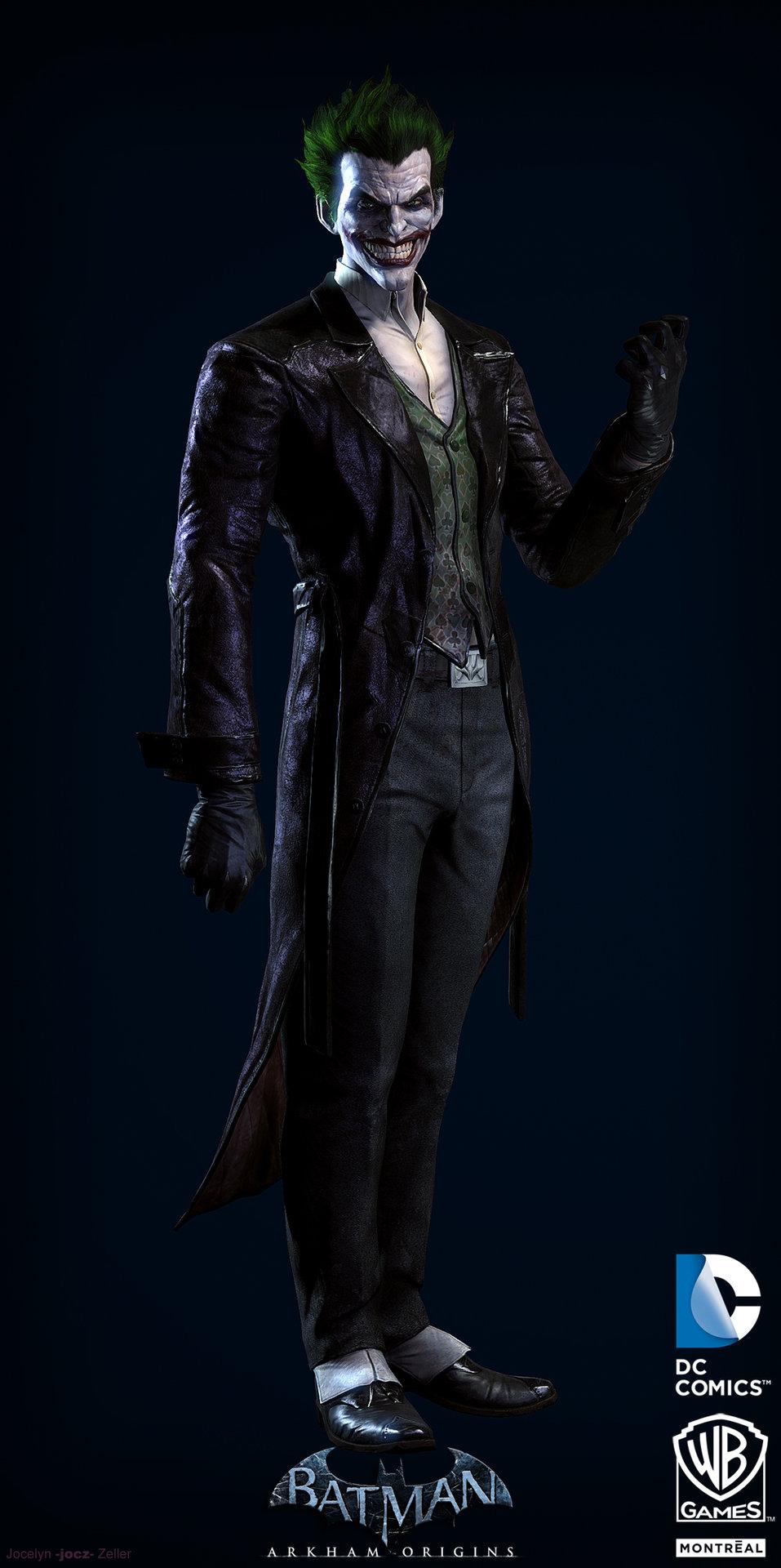 artstation batman arkham origins joker jocelyn quotjocz