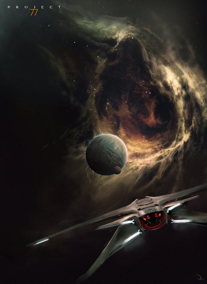 Project 77 ca black nebula www