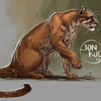Asian golden cat