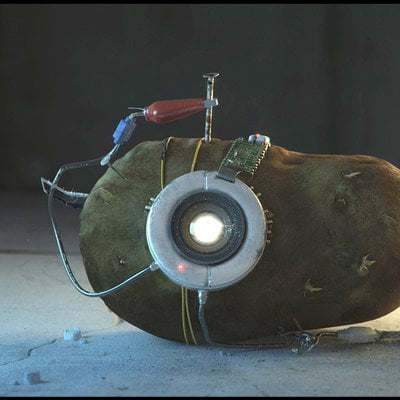 Devon fay potato glados