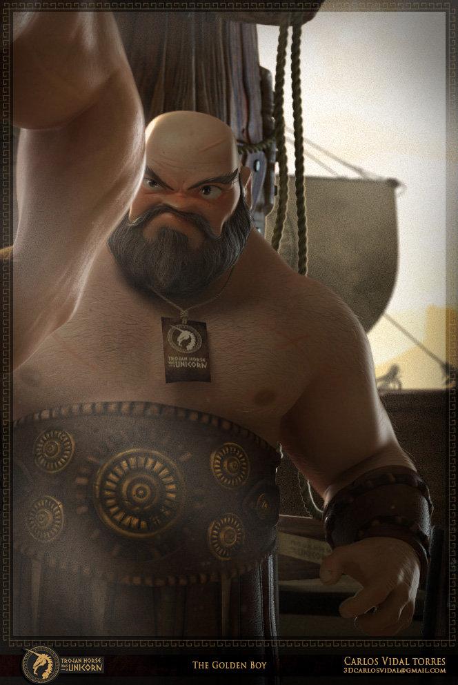 Carlosvidal goldenboy detail3