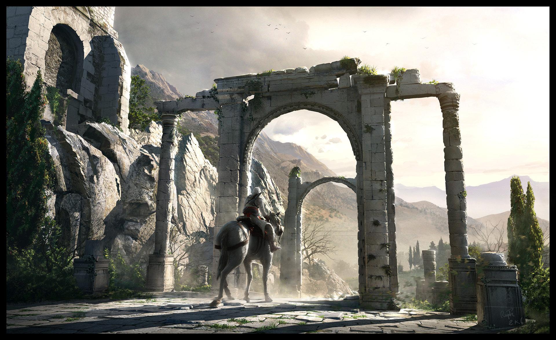 Assassins Creed Concept Art Altair