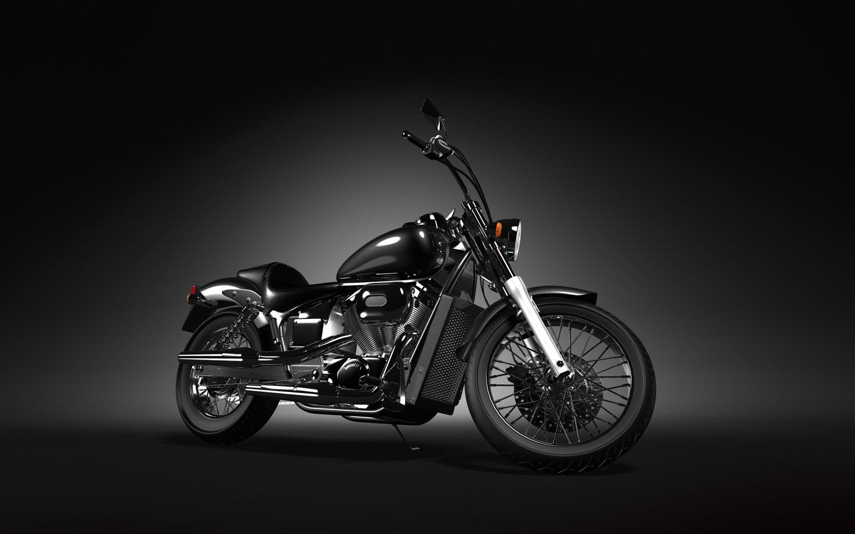 Honda Shadow 400 slasher характеристики #9