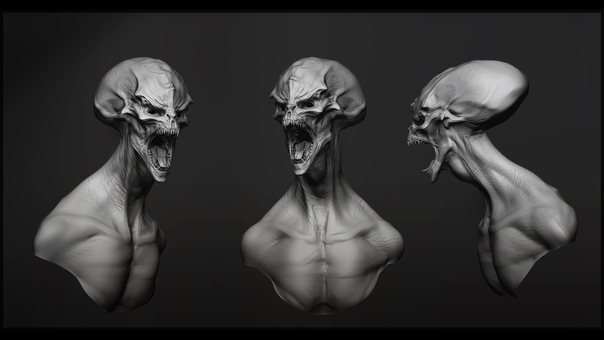 Alien head grescales