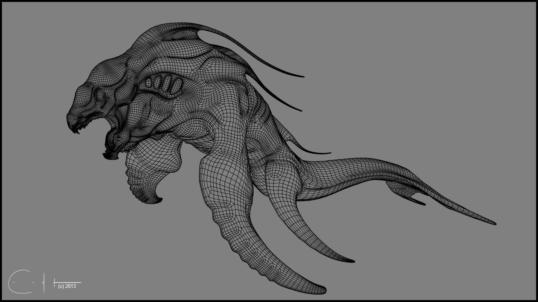 Deep Sea Creature - Wire 1