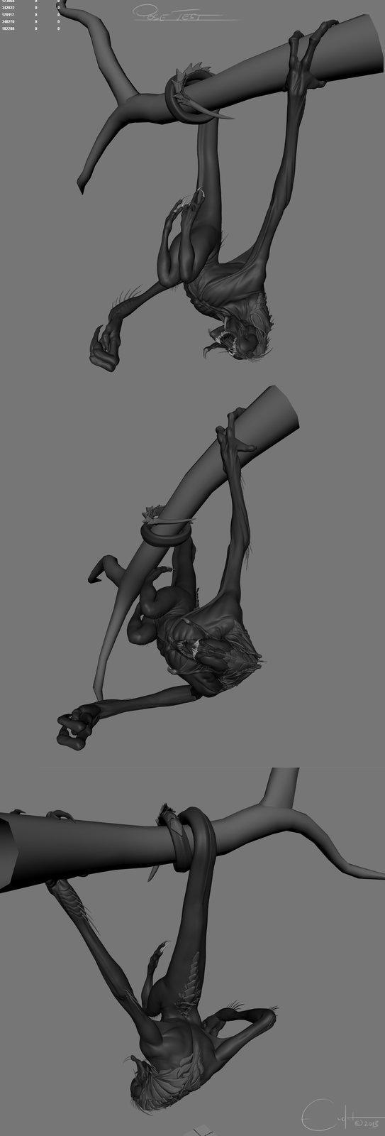 Shrieker - Rig / Pose test