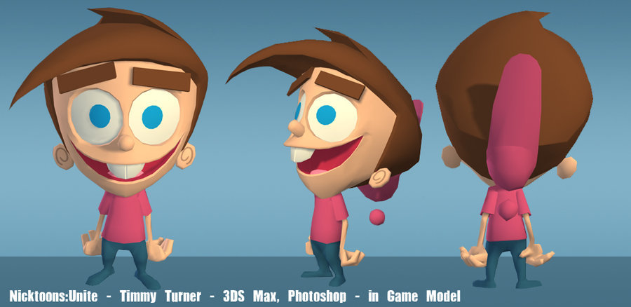Nicktoons  timmy in game