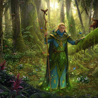 Elfo druida dr