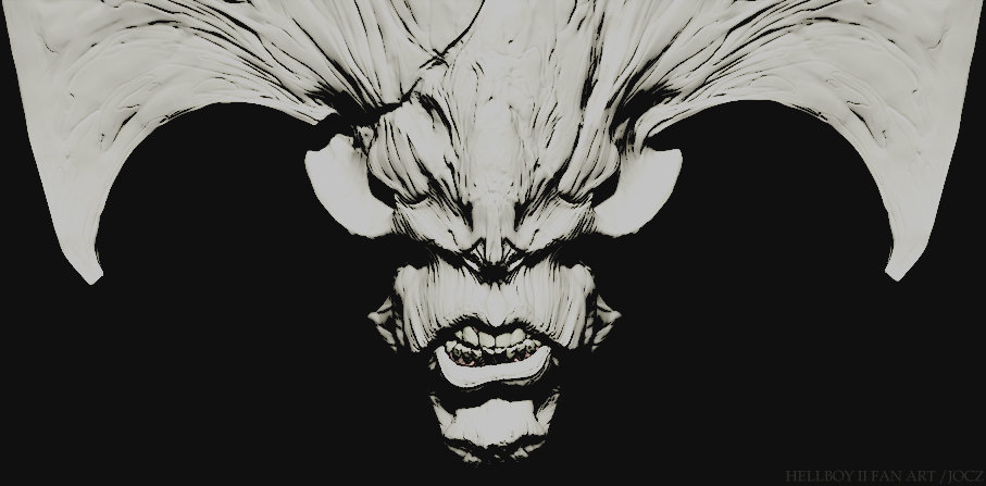 Hellboy2 demon closeup var01