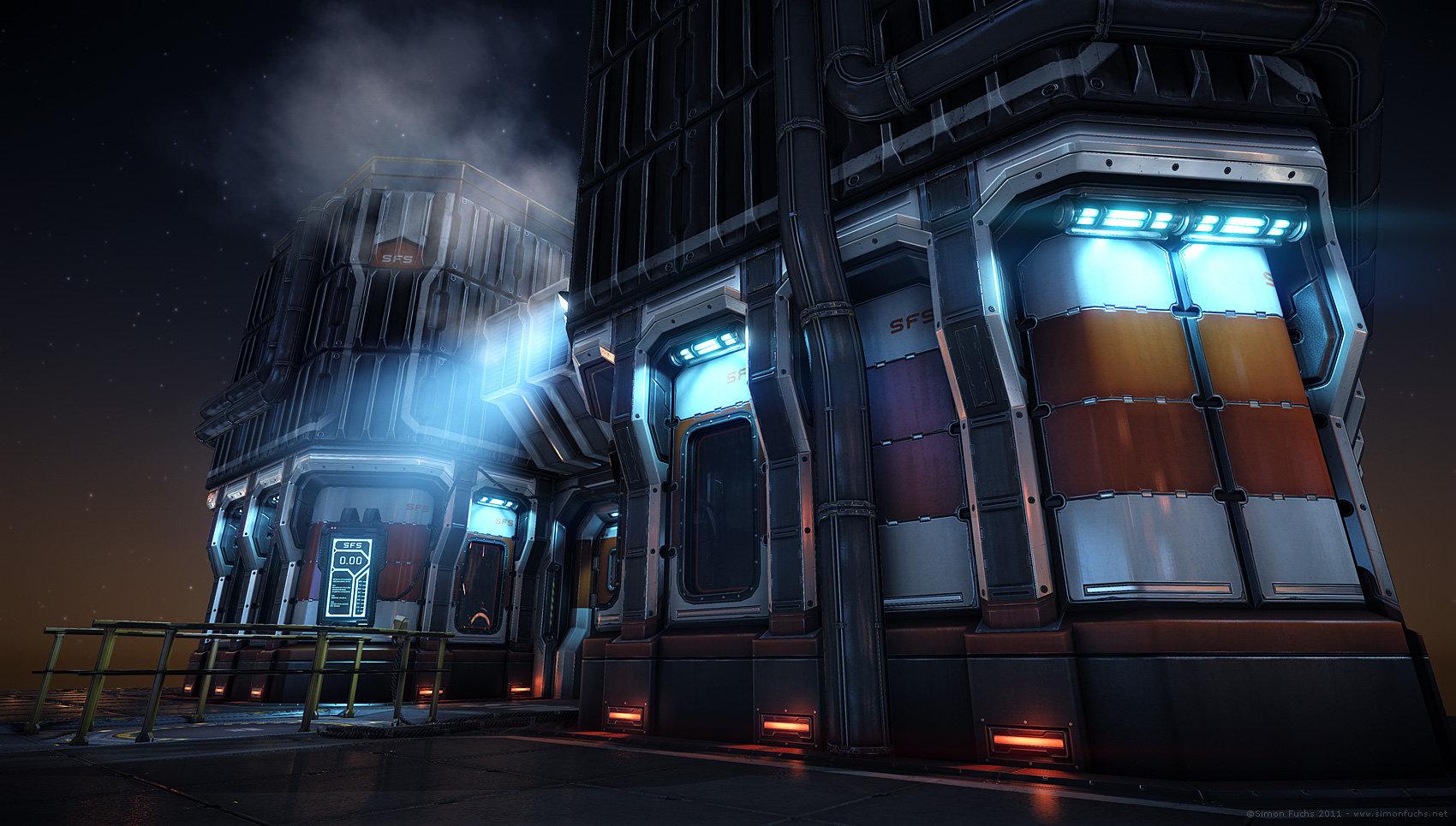 simon fuchs science fiction scene