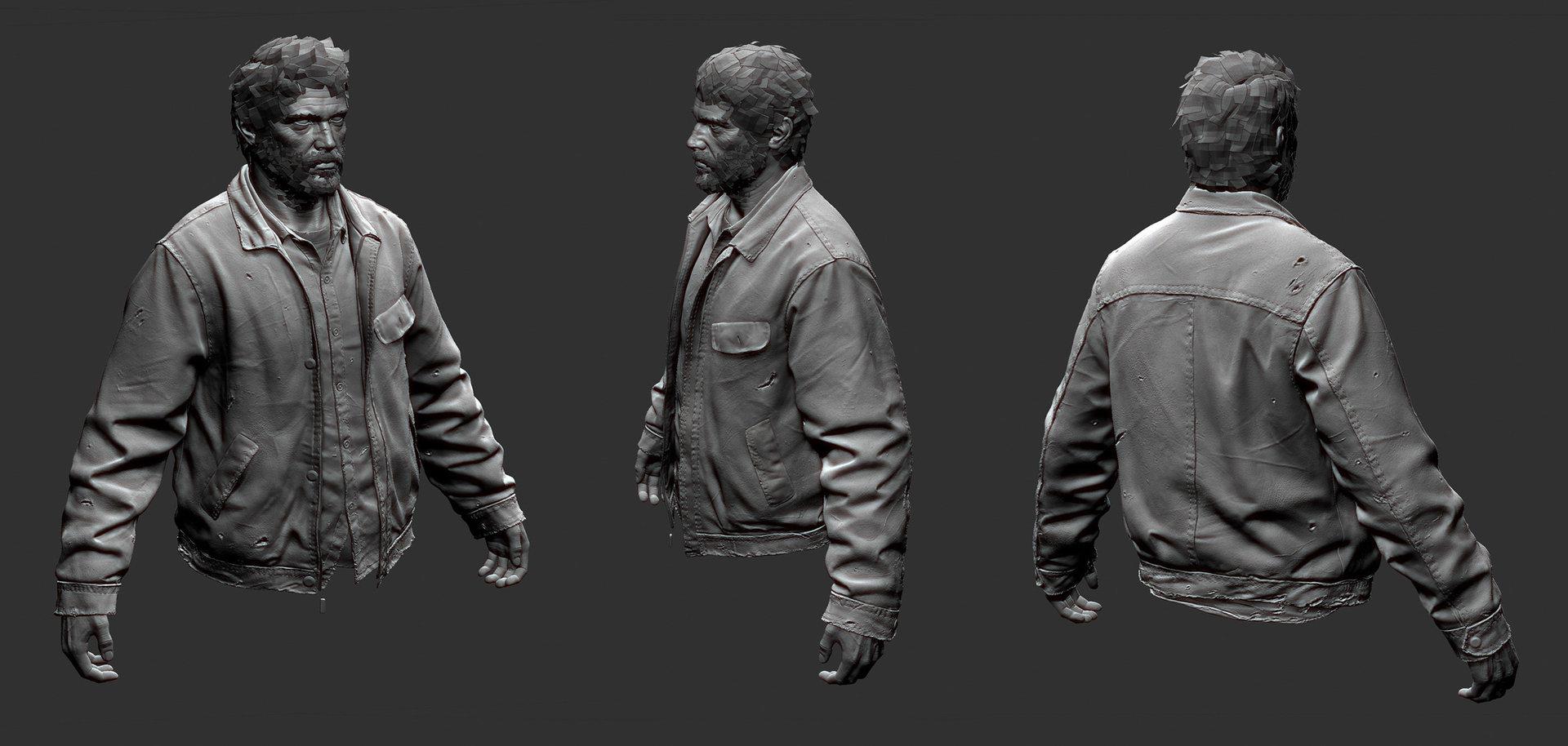Artstation Last Of Us Sculpts Michael Knowland