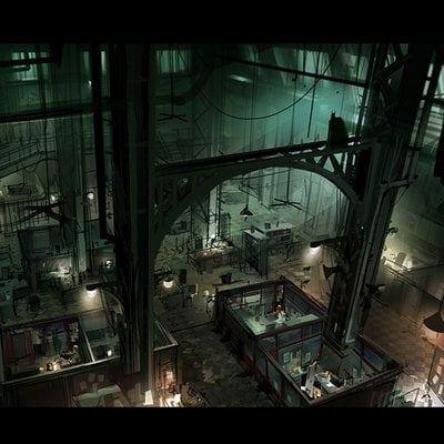 Batman arkham origins concept art vl 11