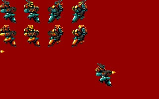 Core Suits Sprite sheet (.LBM Amiga res)