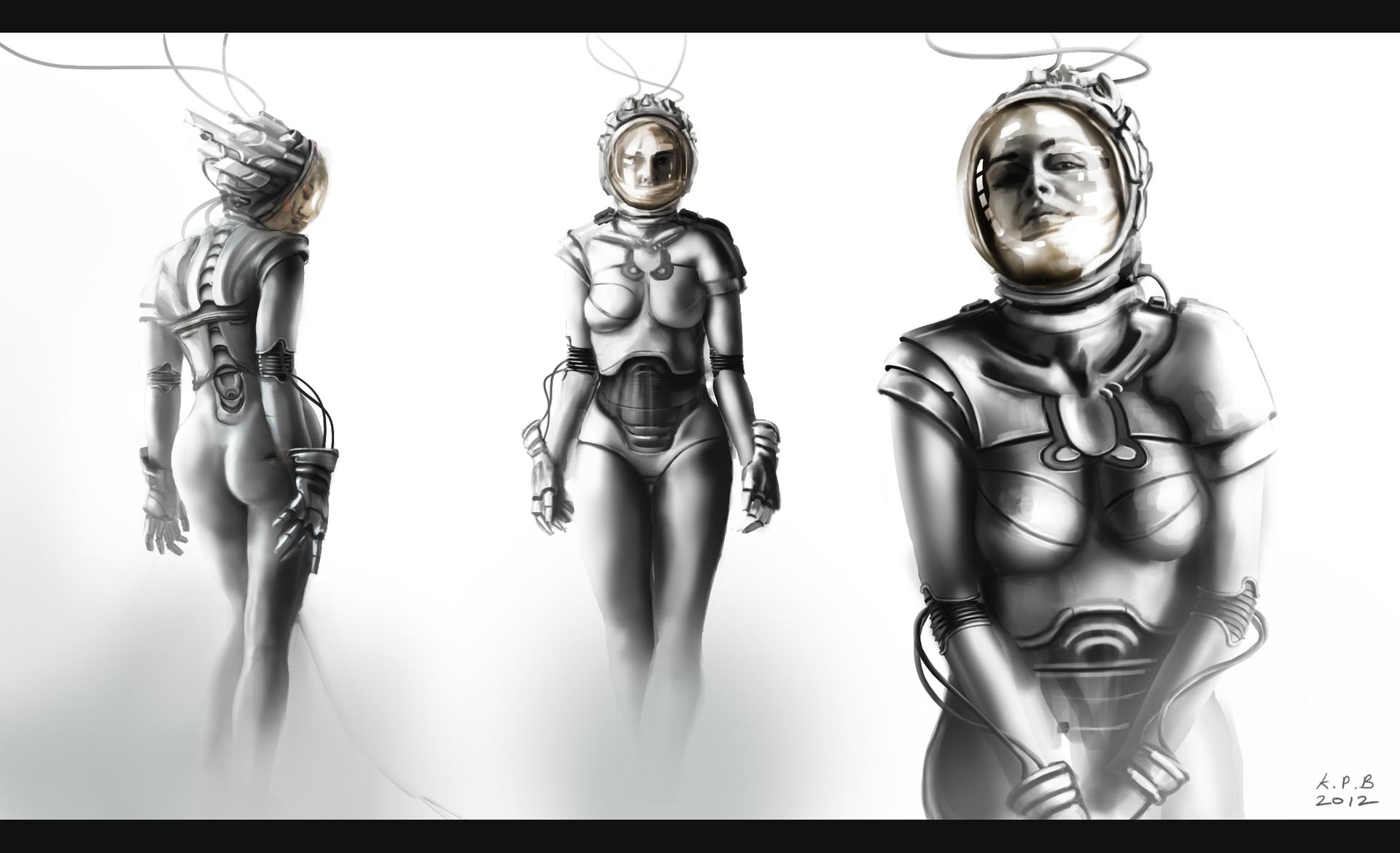 Androidwoman concept v006a