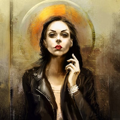 Girl portrait v008