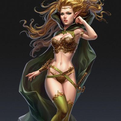 Elf girl upd by kir tat d4xqbr0