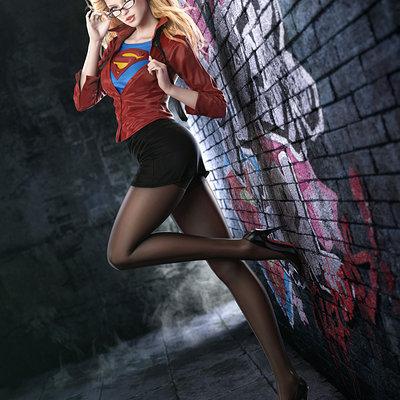 Supergirl fullbody 6k fin