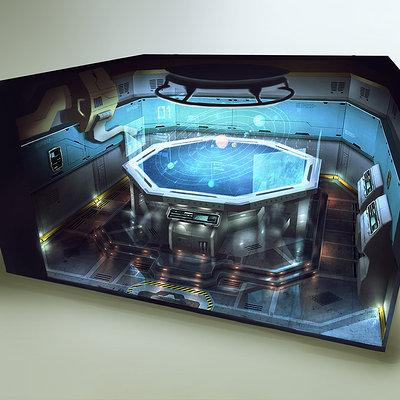 Ship interior concept 05 astrogation room 6x6