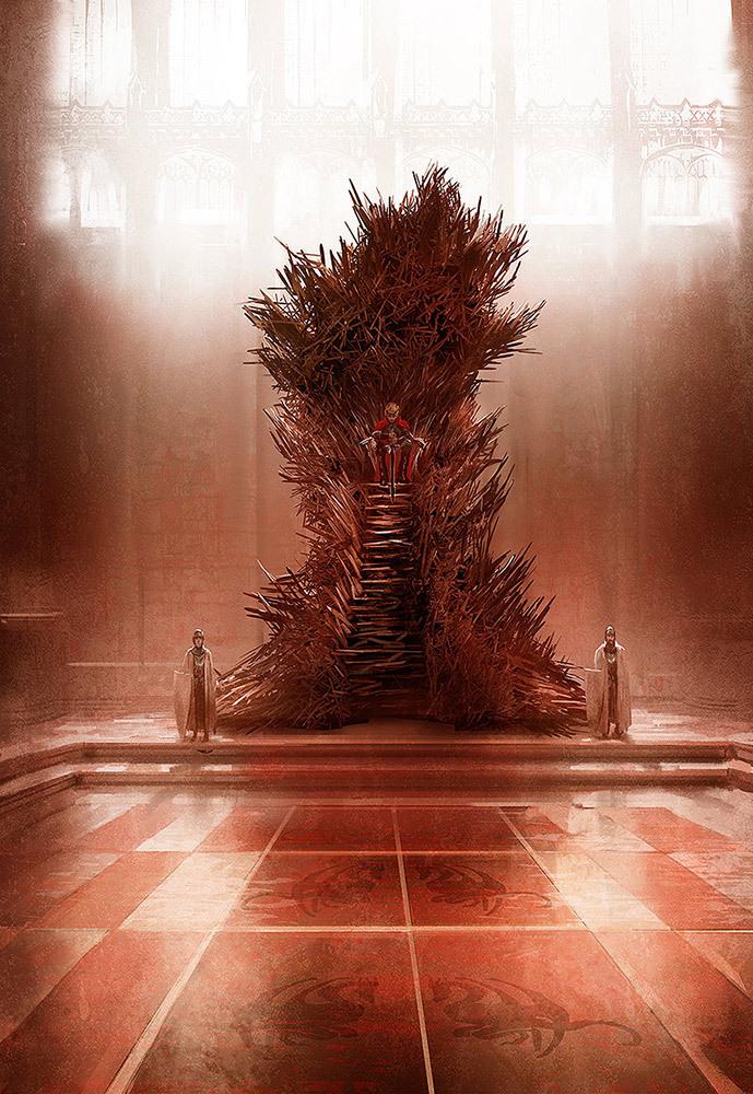 Iron throne behance