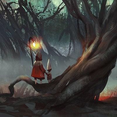 Ancient woods rr