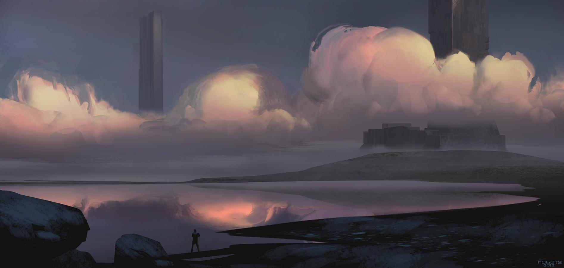 Sunset sketch