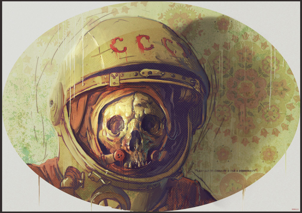 Cosmonaut by bradwright d2zl9wl