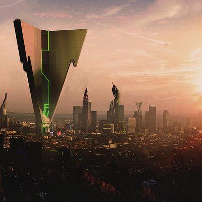 City sketch12 gk