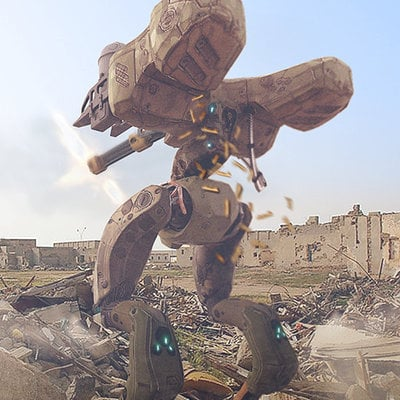 Dt drone keyshot render tleonard