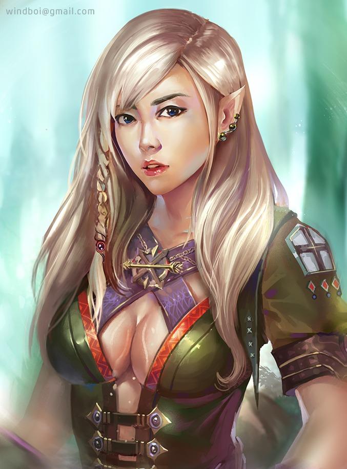 20140427   elf warrior closeup