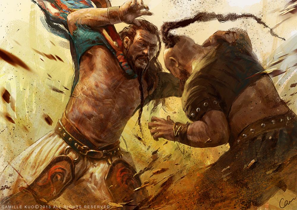 Mongol gladiator