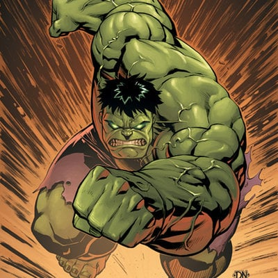 Ma  hulk no  14 cover by david nakayama