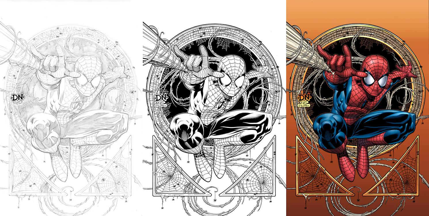 Cover to ma  spider man no  36 by david nakayama