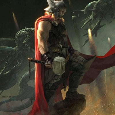Disneymarvel thor heroicnocombat revised