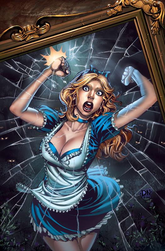 Alice cover by david nakayama