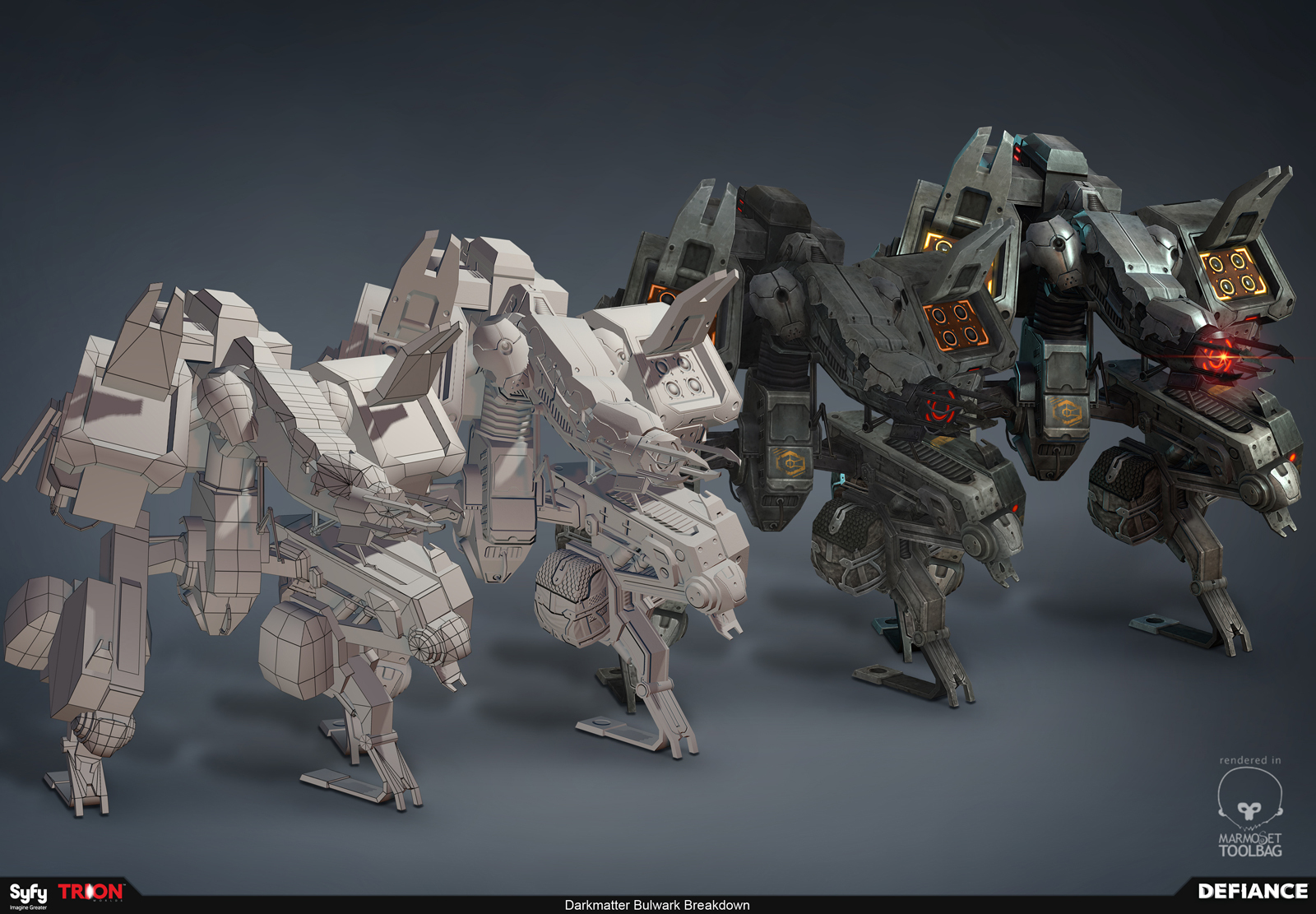 Npc darkmatter bulwark breakdown