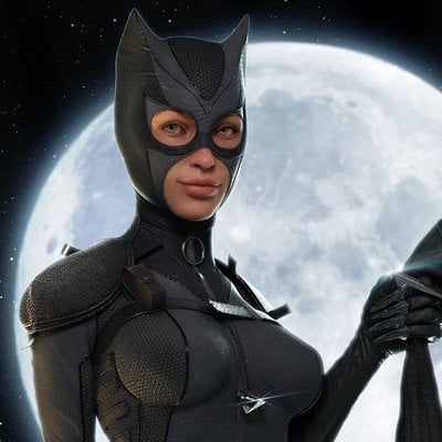 Catwoman high