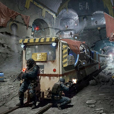 Subway scene 15