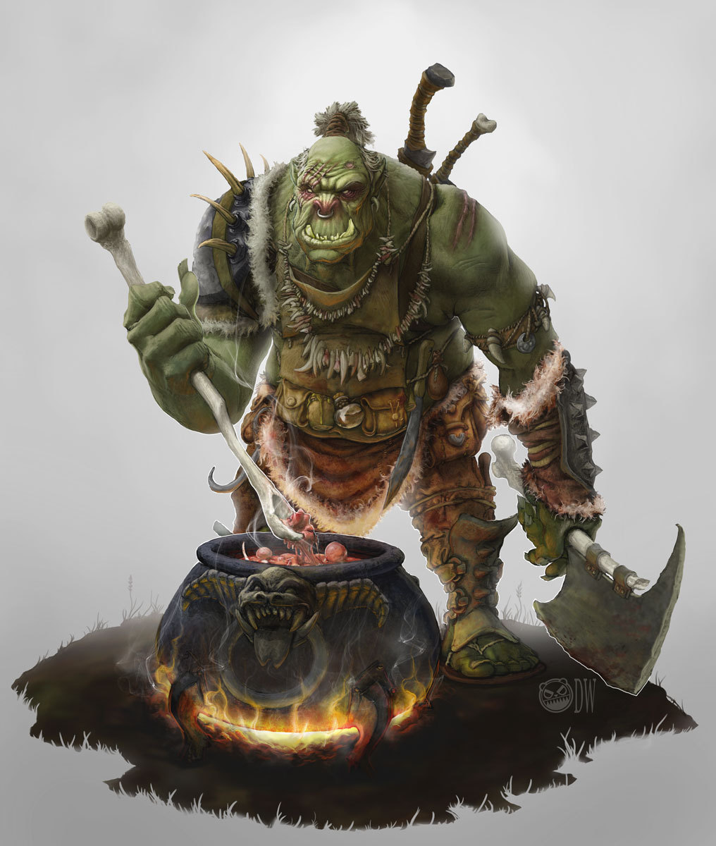 Orc cook dw