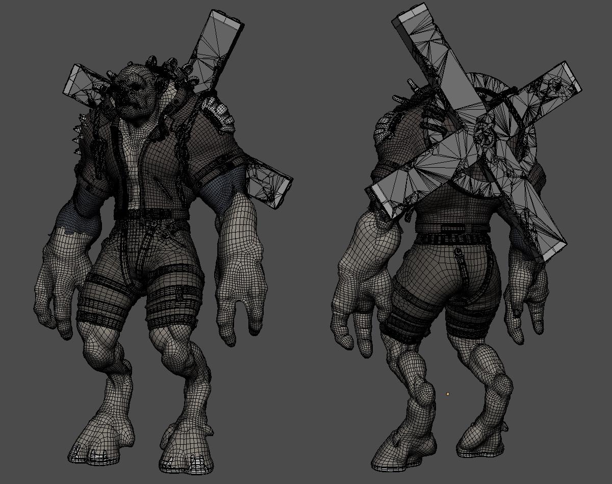 Beast wire2