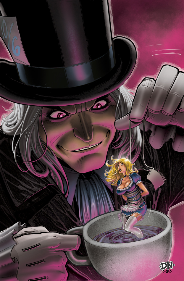 Mad hatter cover 2 by david nakayama