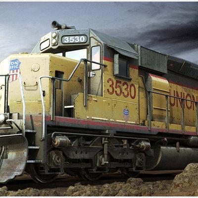 Trainz2009 textured
