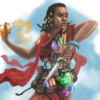 Garundi alchemist pathfinder dw