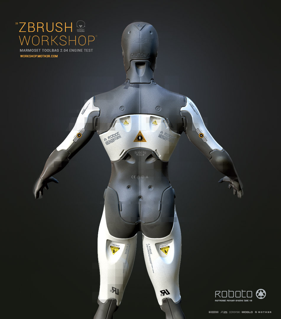 Zbworkshop roboto