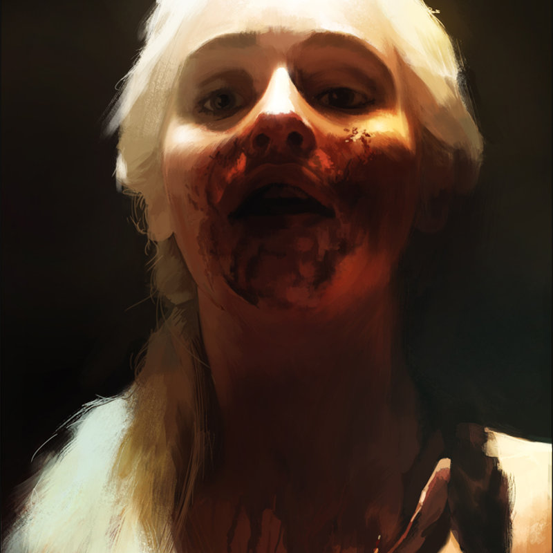 Khaleesi Portrait