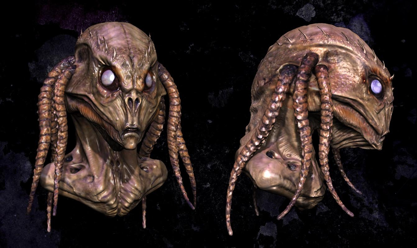 Alien head by audreee d6a9vbs